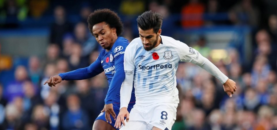 Everton fans want Gomes signed permanently after Chelsea display