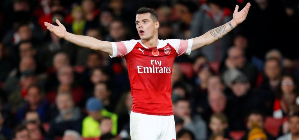 """""""Fix up, or get out!"""" - Arsenal fans backlash after Xhaka states his disappointment"""