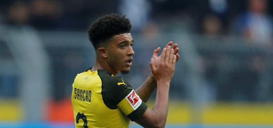 Revealed: 82% of Liverpool fans want Jadon Sancho