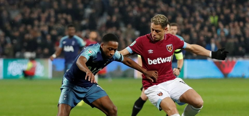 West Ham United fans want Hernandez booted out following dismal display