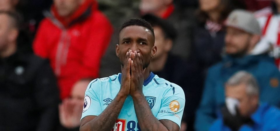 Revealed: 67% of Bournemouth fans want Jermain Defoe gone in January