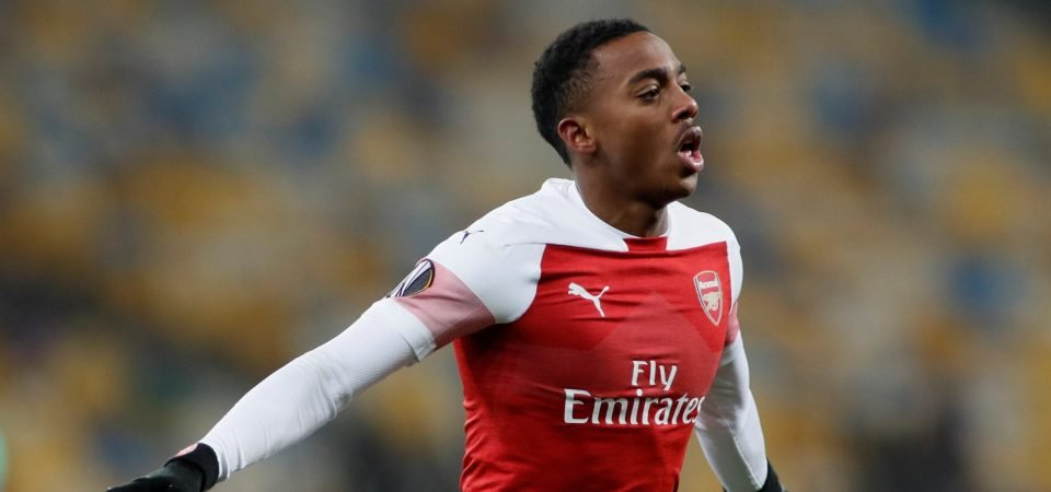 Arsenal fans excited by Joe Willock's performance