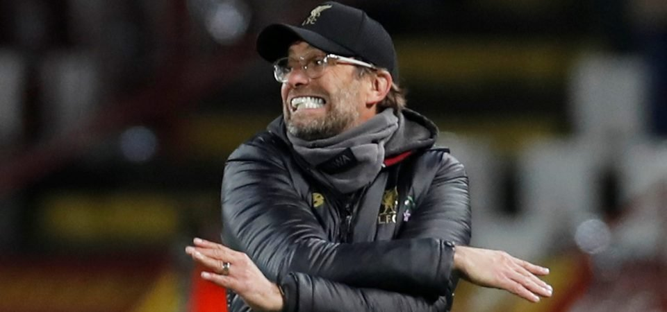 Everton fans mock Liverpool and Klopp following dire midweek result