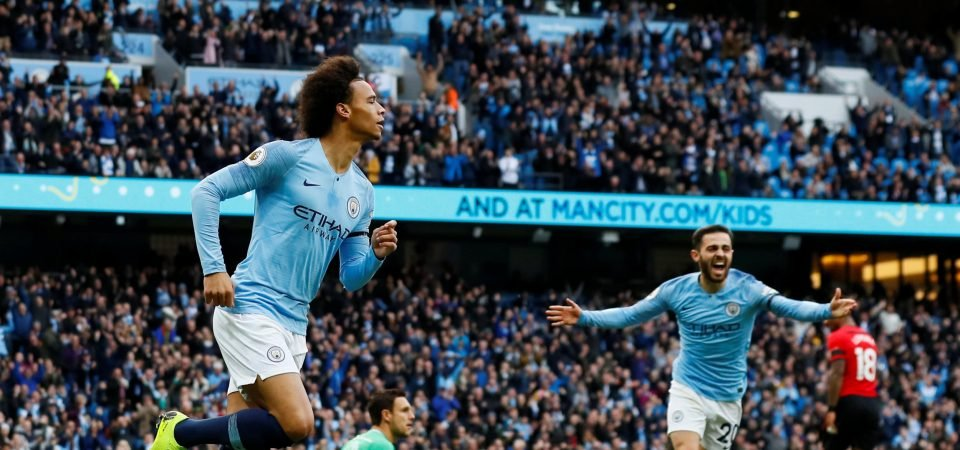 Man City duo Benjamin Mendy and Kevin De Bruyne send best wishes to Leroy Sane