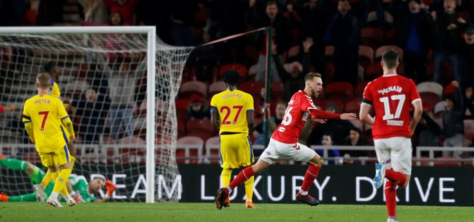 Middlesbrough fans desperate for Wing to come into the first team following EFL Cup goal