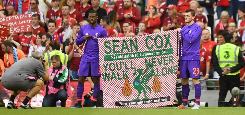 Twitter Reacts: Liverpool fans react to Roma's generous donation to Sean Cox