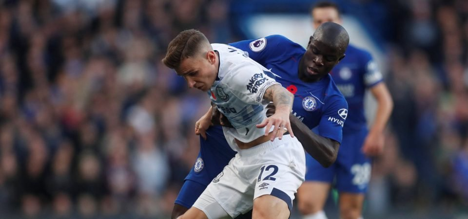 Everton fans can't get enough of Lucas Digne right now