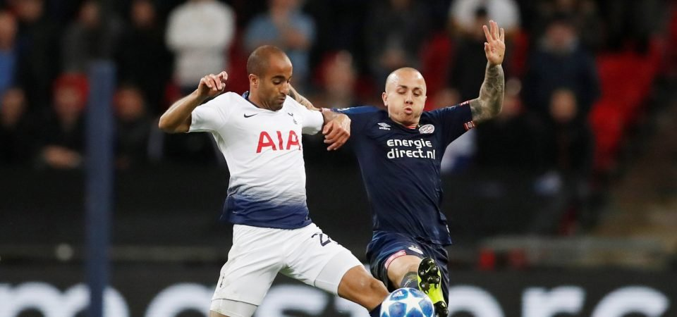 Lucas Moura might have come to Tottenham's rescue had he been given the chance