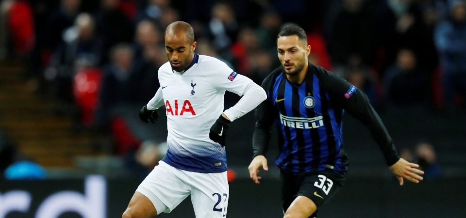 Lucas Moura's positive performance versus Inter Milan shows he will be key against Arsenal