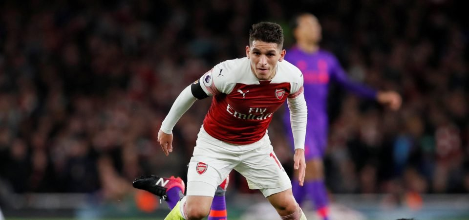 Arsenal fans were delighted with Lucas Torreira's brilliant display against Liverpool