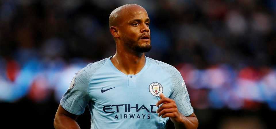 Revealed: 69% of Manchester City fans want Vincent Kompany to start in the Manchester derby