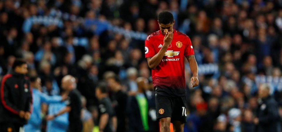 Man United fans are fed up with Marcus Rashford's underwhelming performances