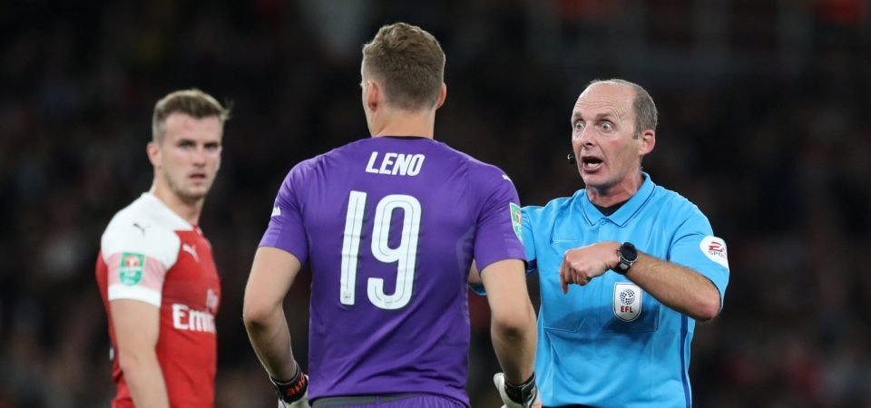 Arsenal fans react as Mike Dean is named as referee for north London derby