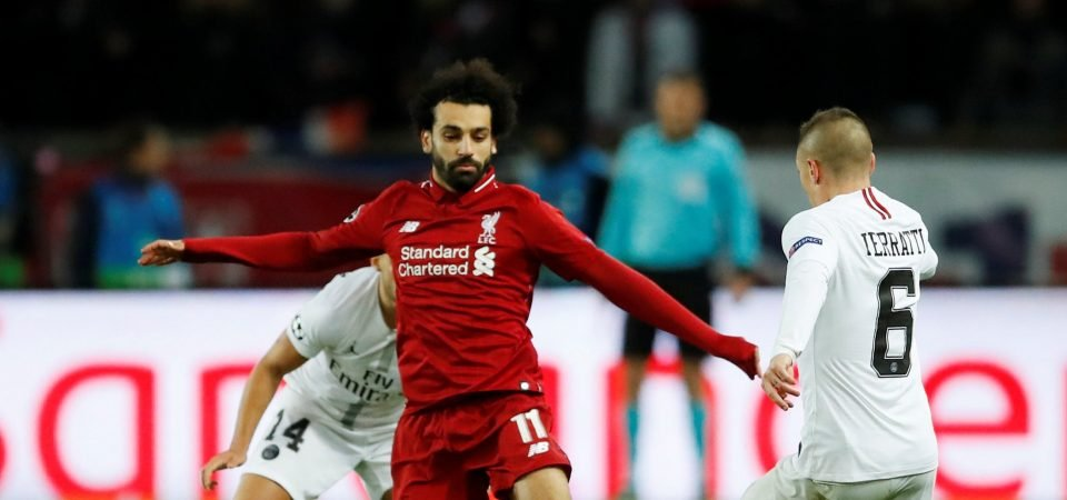 Warnock accuses Salah of not performing as a team player for Liverpool