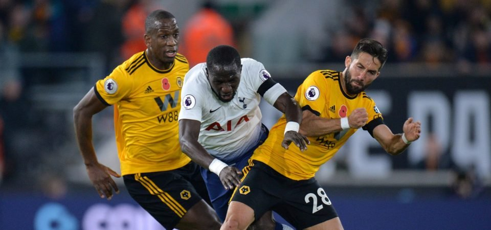 Spurs fans on Twitter berate Moussa Sissoko for his performance vs Wolves