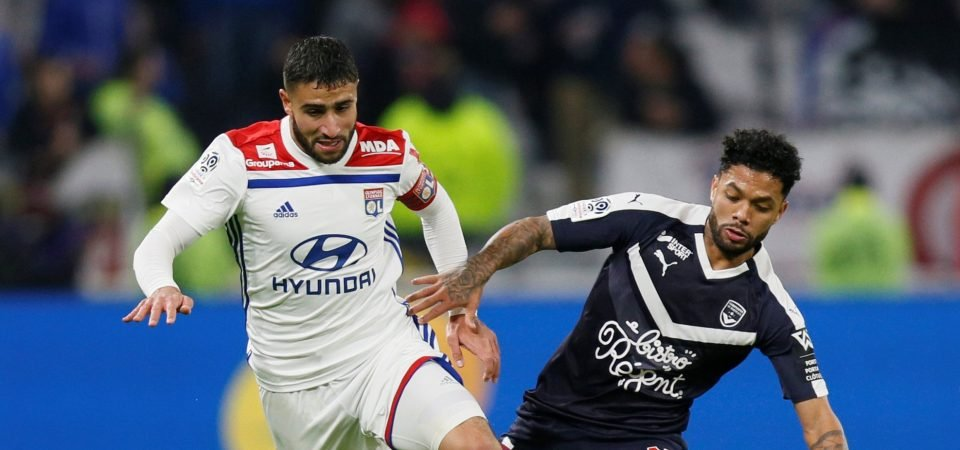 Liverpool fans react as Fekir pushes for move