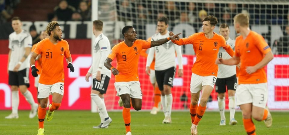 Fans react as ex-Southampton target Quincy Promes scores crucial Netherlands goal