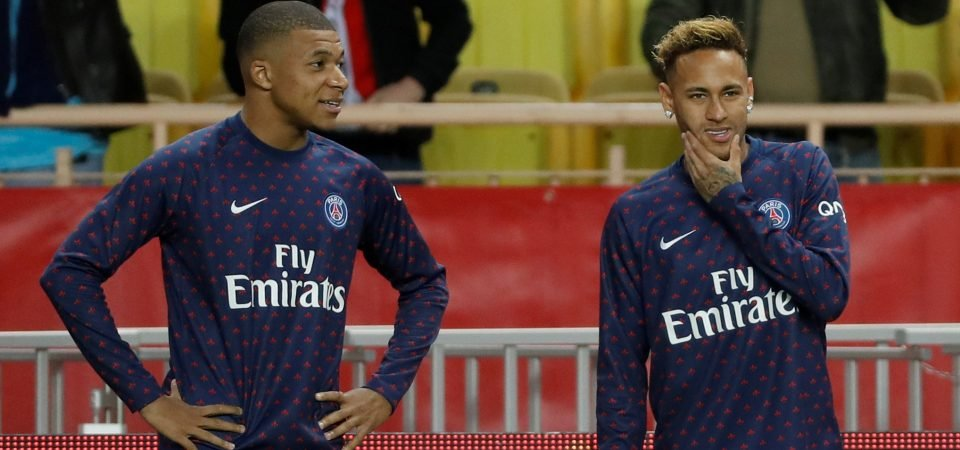 Neymar and Mbappe suffer injury scares ahead of Champions League clash, Liverpool fans react