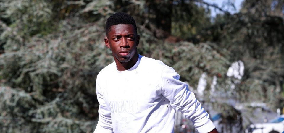 Revealed: 78% of Arsenal fans want Unai Emery to move for Ousmane Dembele in January