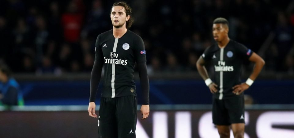 Adrien Rabiot's Paris Saint-Germain snub is great news for Tottenham