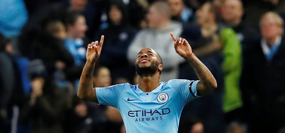 Fans lay into Raheem Sterling as referee awards controversial penalty