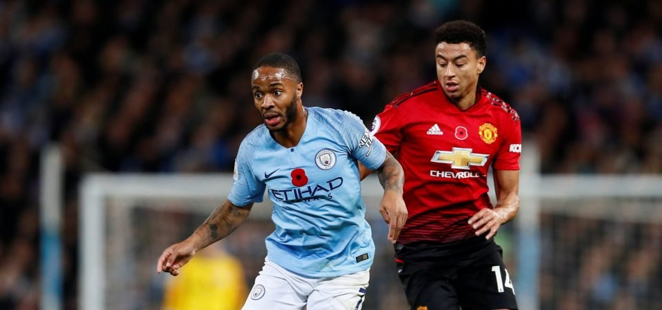 Chalkboard: Sterling shows flashes of brilliance as a false nine in dying embers of Manchester Derby