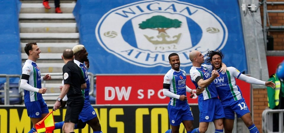 Chelsea fans impressed by James's goalscoring performance for Wigan Athletic