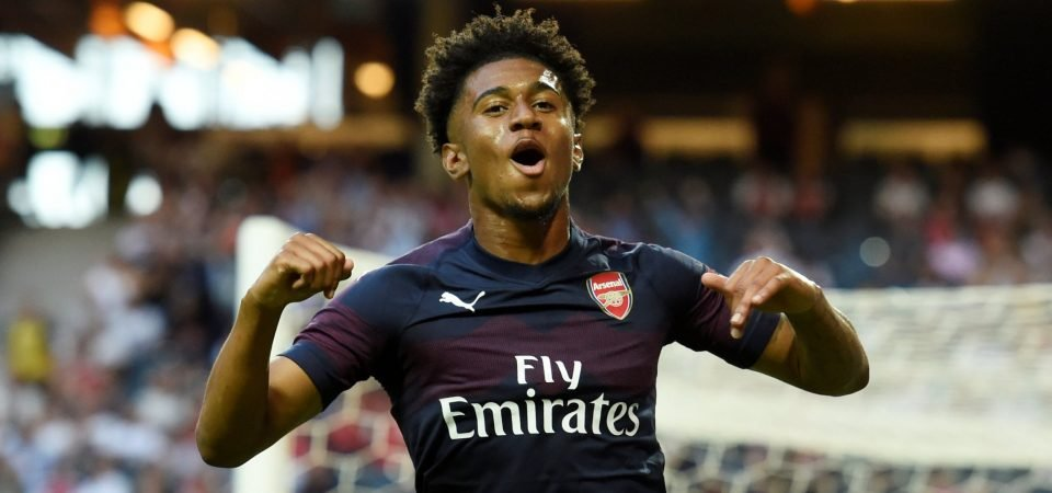 Arsenal's rising star Reiss Nelson showered with praise after latest pre-season clash
