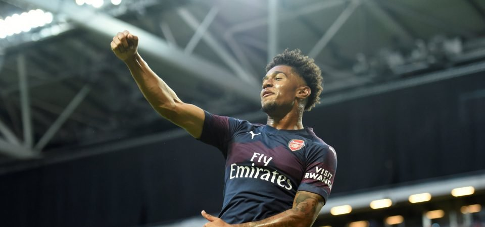 Arsenal fans react as Reiss Nelson is voted Bundesliga Rookie of the Month