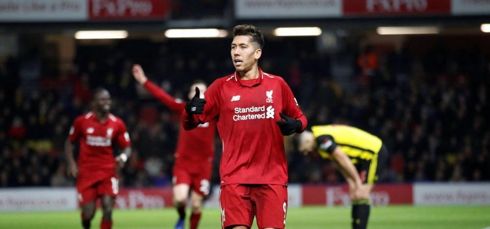 Firmino proves he can be an asset from deep during Liverpool's win over Watford