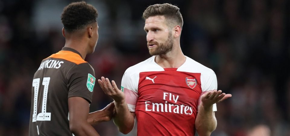 Quick read: Position switch could be best hope for Mustafi this season