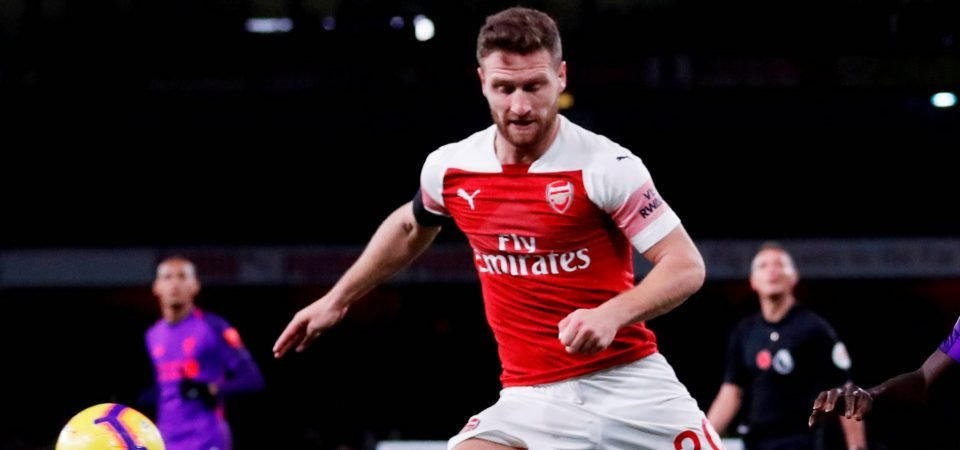 Revealed: The question of just how bad Shkodran Mustafi is divides Arsenal fans