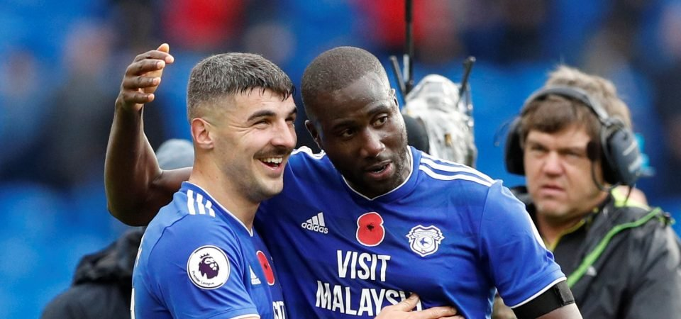 Cardiff City fans were ecstatic with Sol Bamba's late contribution against Brighton