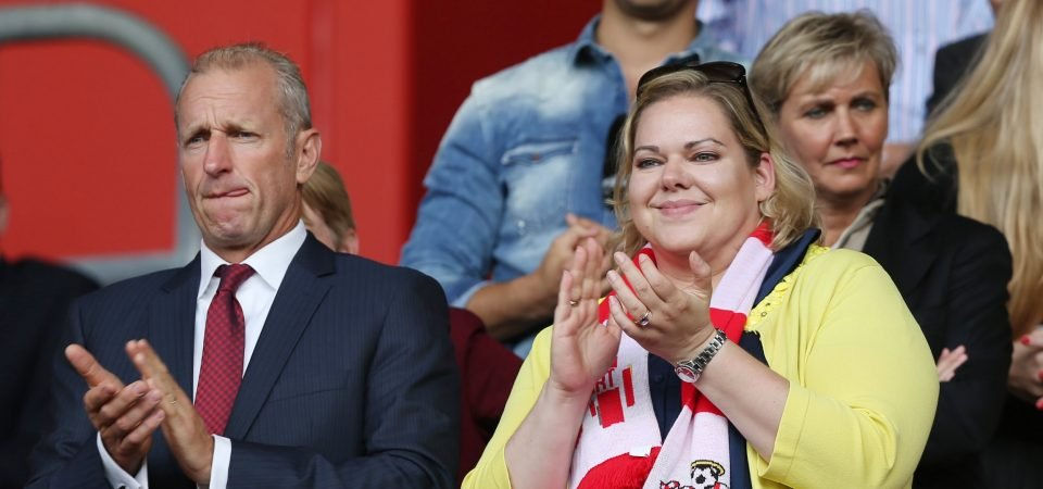 Southampton fans shame their own club over Scudamore farewell gift
