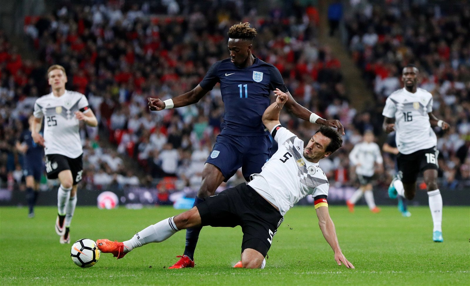 Tammy Abraham for England vs Germany