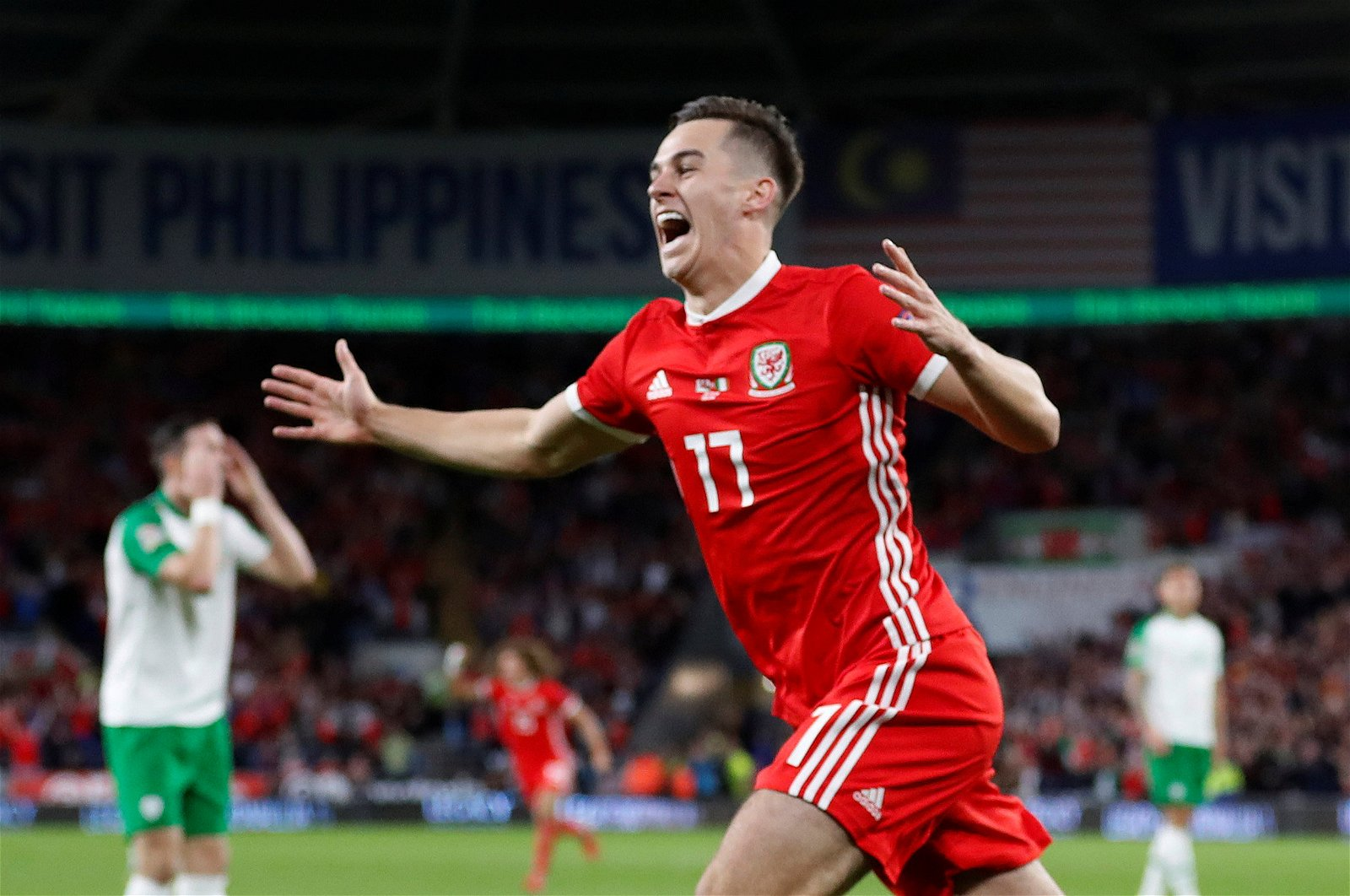 Tom Lawrence for Wales