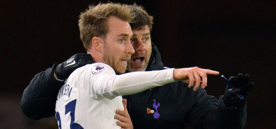 Between The Lines: Christian Eriksen remains coy on long-term Tottenham future