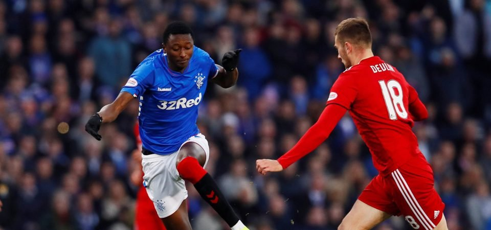 Gerrard's latest team selection suggest Sadiq does not have a Rangers future