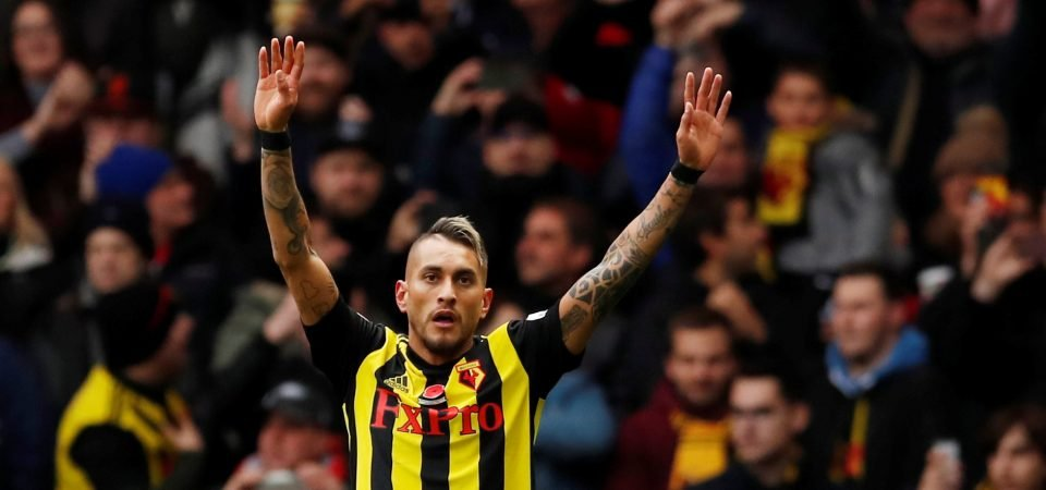 Roberto Pereyra is stepping into Richarlison's shoes at Watford in style