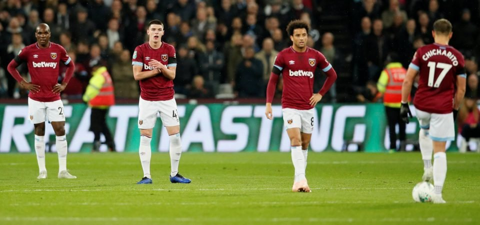 West Ham fans slam Felipe Anderson's performance v Spurs