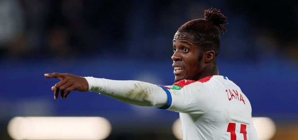Tottenham Hotspur fans impressed by Zaha's display against Chelsea