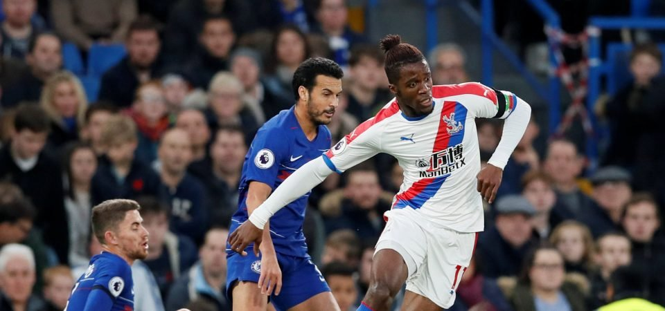 Liverpool fans want Klopp to sign Zaha in 2019