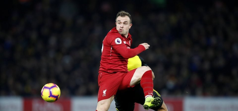 Liverpool fans love Shaqiri's fighting talk ahead of derby
