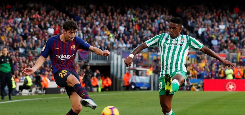 Newcastle face impossible task to sign Firpo from Betis