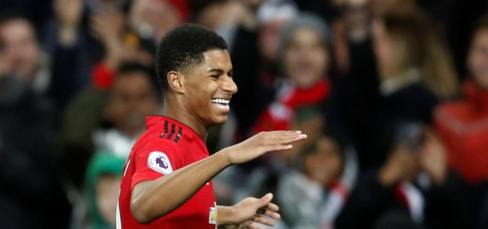 Moving Rashford out wide could hold key to Man Utd beating Tottenham
