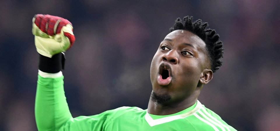 Spurs fans want Onana signed from Ajax