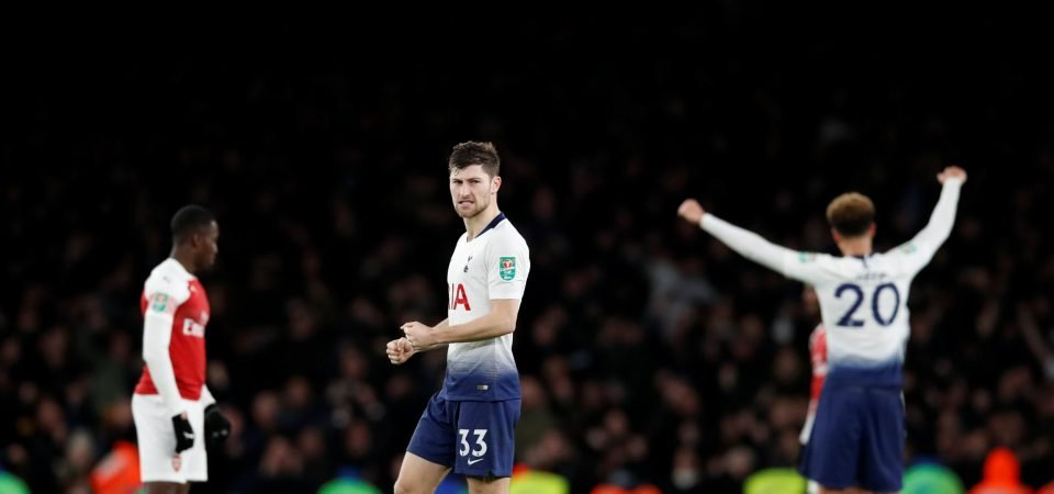 Ben Davies ready to play through pain barrier for Tottenham in Champions League final