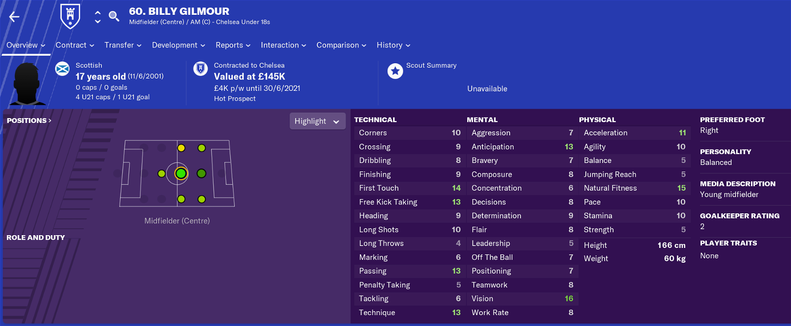Billy Gilmour FM19