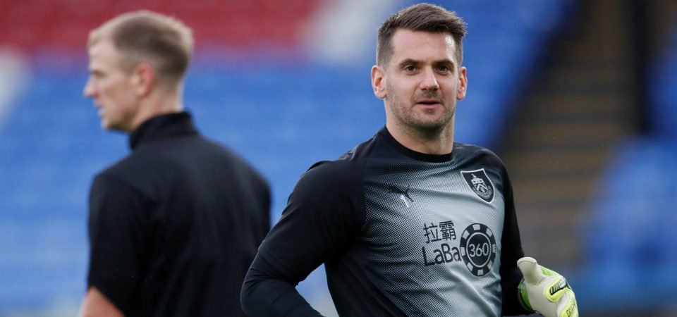 Nottingham Forest should sign Tom Heaton to replace Costel Pantilimon
