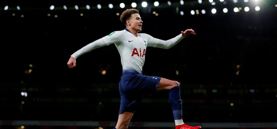 Dele Alli proved against Arsenal that he is both Tottenham's present and future